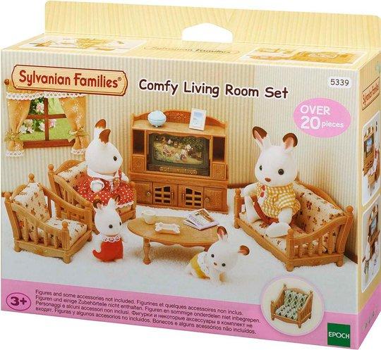 Sylvanian Families 5339 Comfy Living Room Set