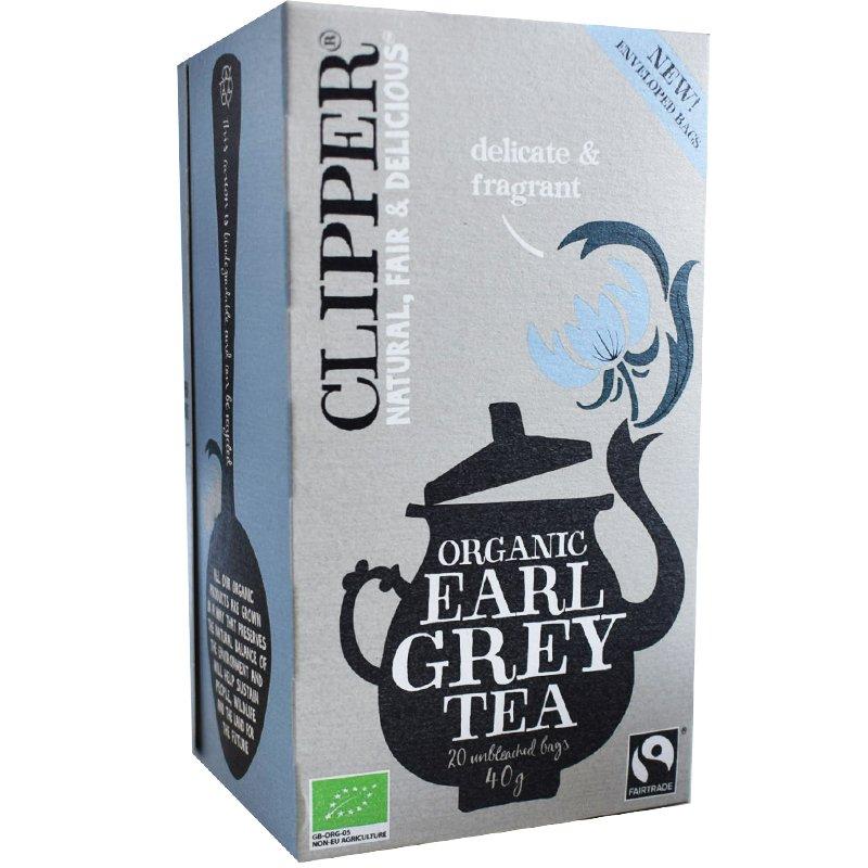 Luomu Earl Grey Tee - 49% alennus