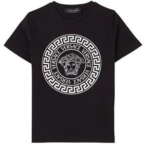 Versace Logo Print T-shirt Svart 6 år