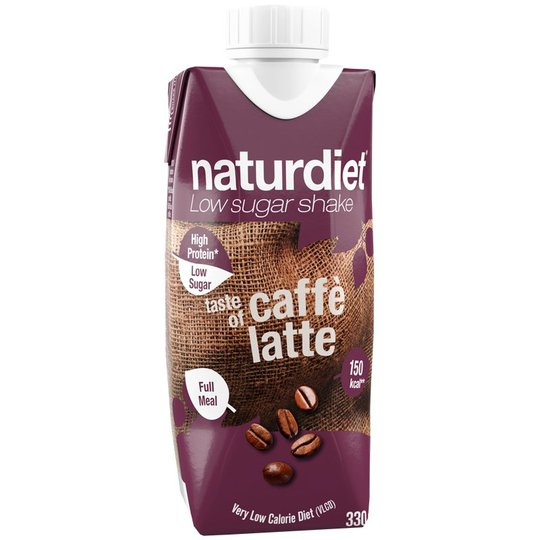 """Måltidsersättningsshake """"Latte"""" - 32% rabatt"""