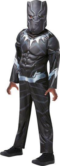 Marvel Avengers Kostyme Black Panther 3-4 år