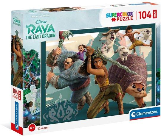Disney Raya Puslespill Maxi, 104 Biter