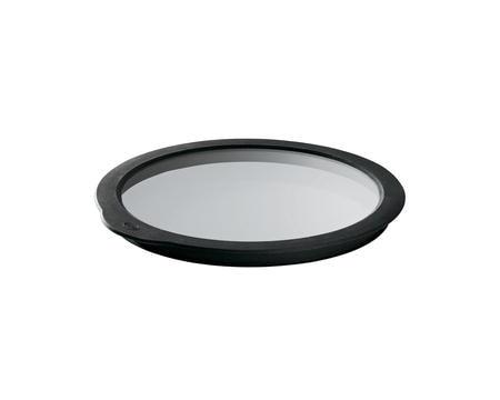 Glaslock klar/svart 20 cm