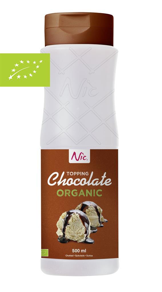 Nic Topping - Choklad Ekologisk 0.5L