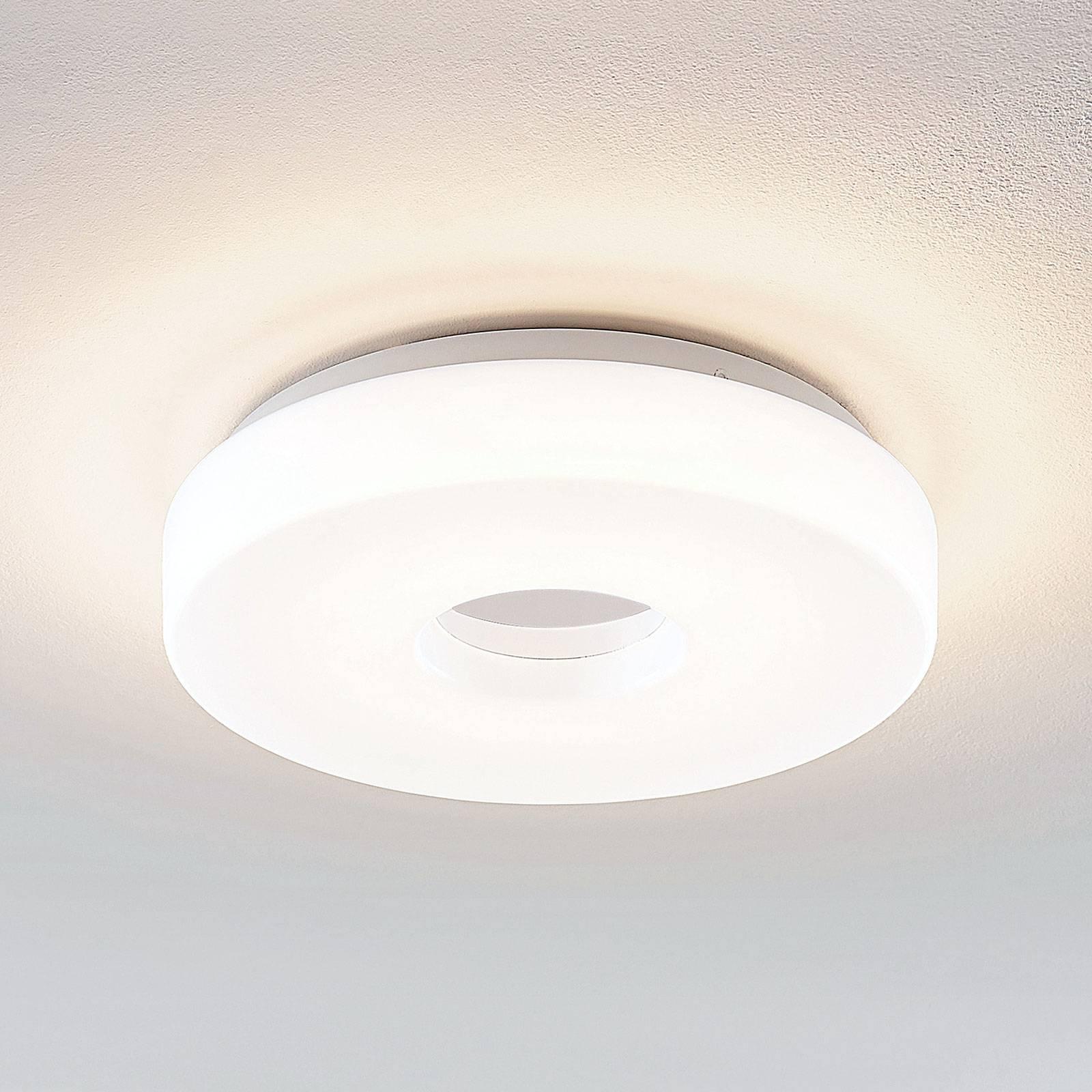 Lindby Florentina LED-kattolamppu, rengas, 29,7 cm
