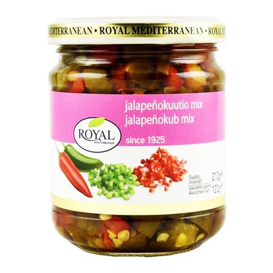 Royal Jalapeñokub mix, grön och röd - 35% rabatt