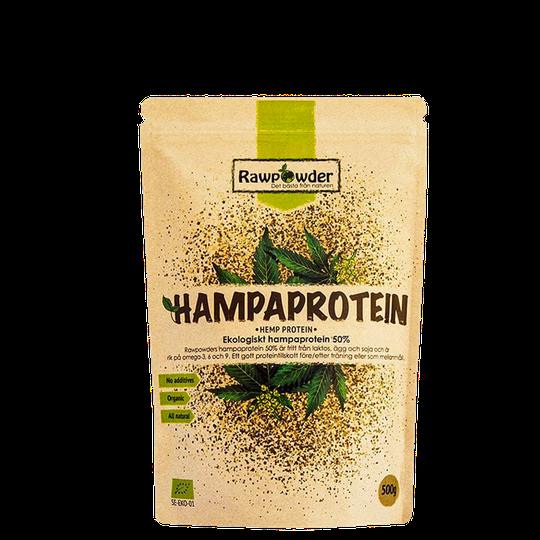Luomuhamppuproteiini 50% Eco, 500 g