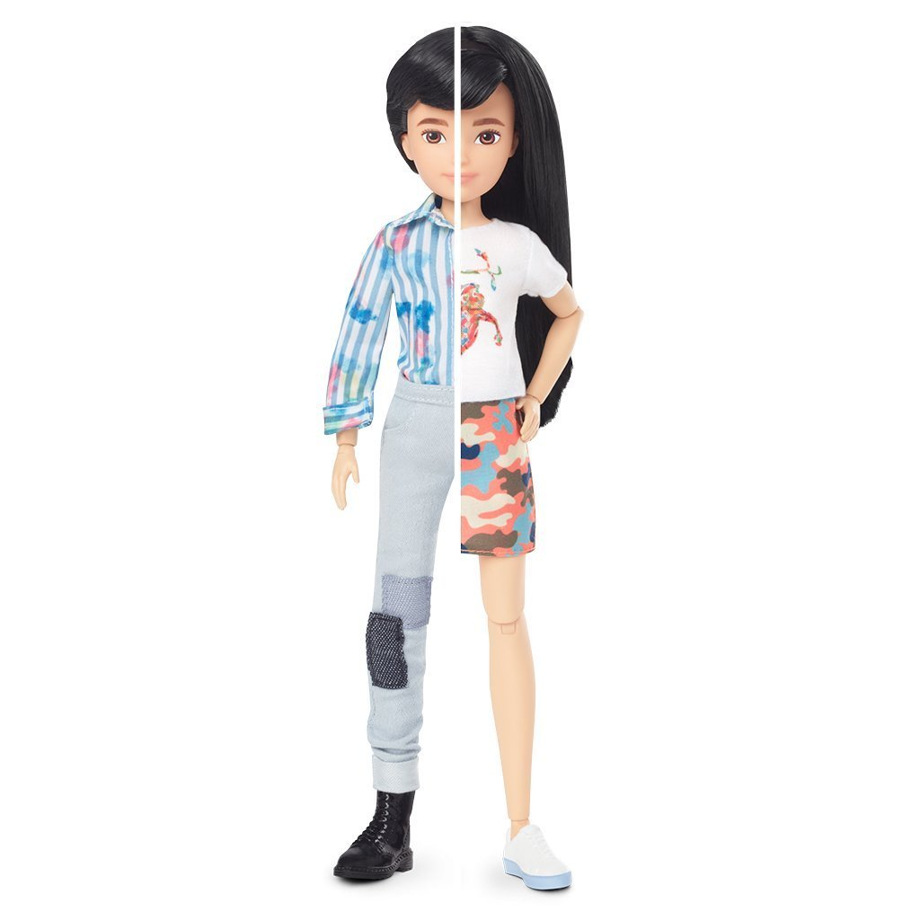 Creatable World - Deluxe Character Doll - Black Braided Hair (GGG54)