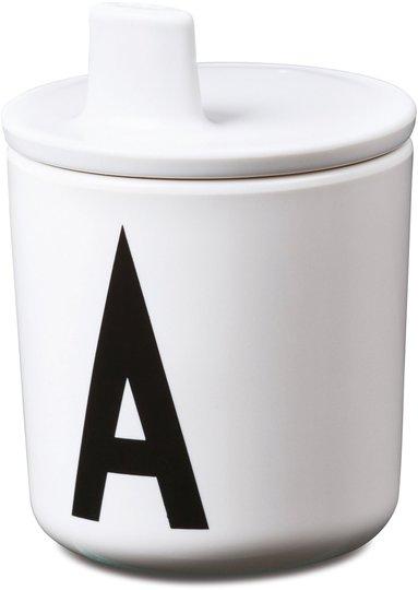 Design Letters Drikke Lokk, Hvit