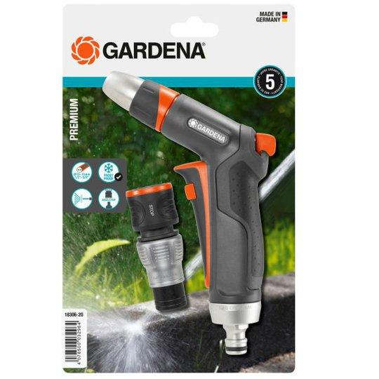 Gardena Premium Ruiskupistooli Sisältää sulkuliittimen