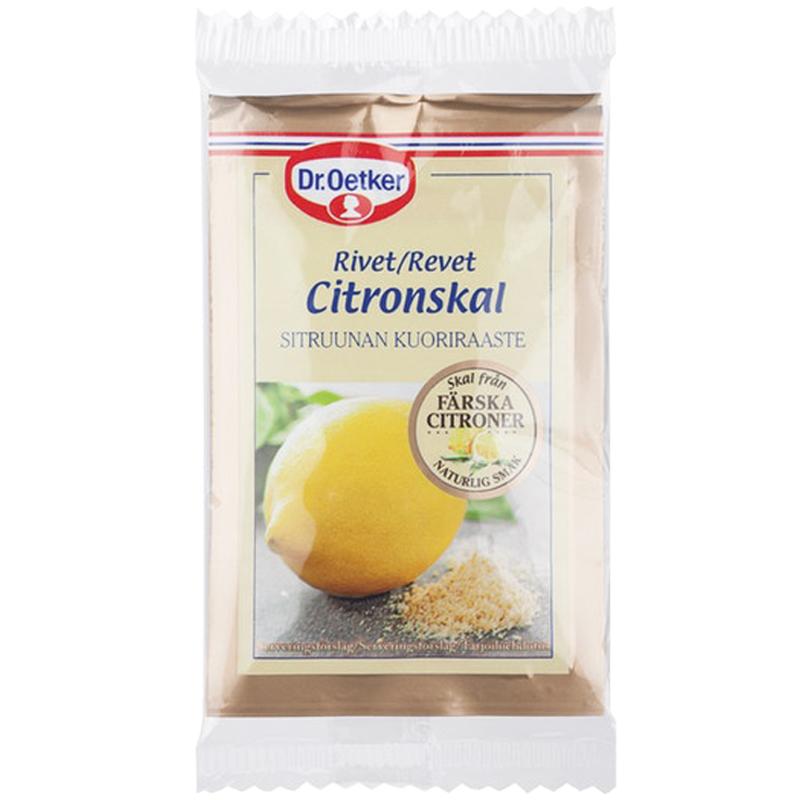 Citronskal - 40% rabatt