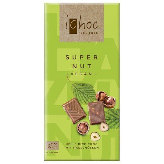 iChoc Chokladkaka Super Nut, 80 g