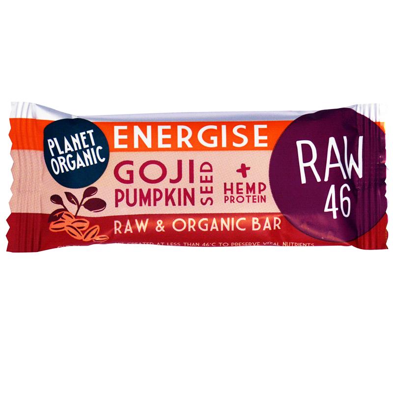 """Eko Rawbar """"Goji & Pumpkin Seeds"""" 30g - 33% rabatt"""