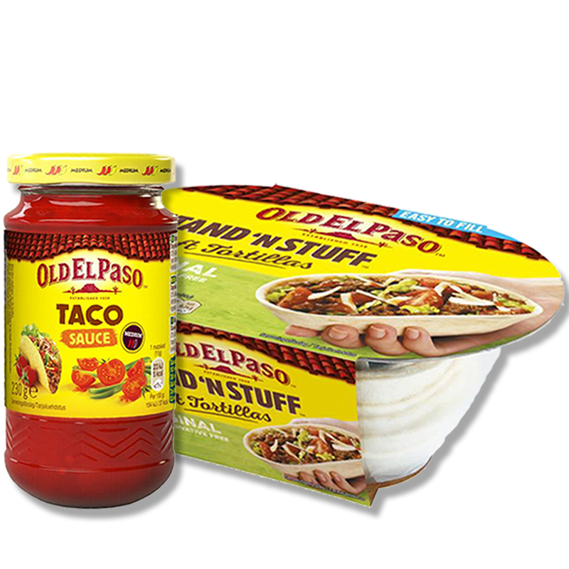 Taco-paketti - 41% alennus