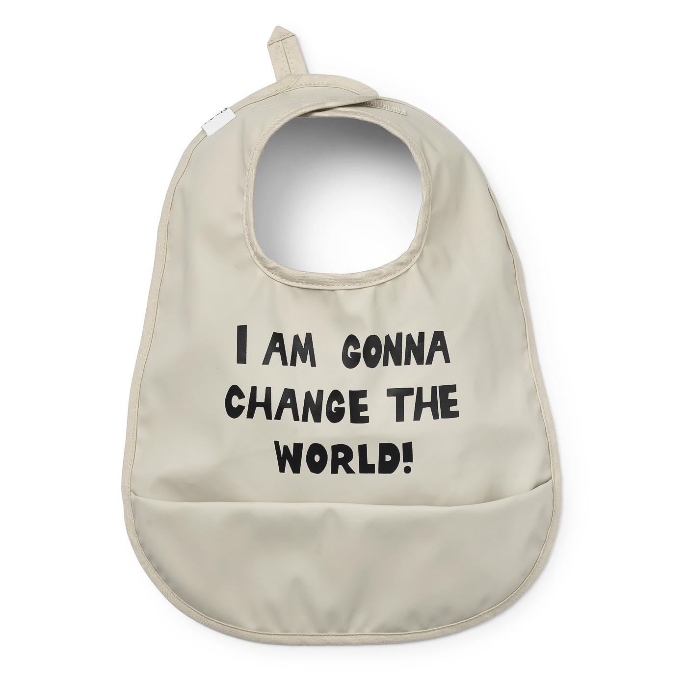 Baby Bib - Change the World
