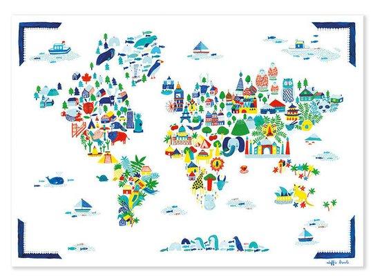 Fine Little Day Poster World Poster