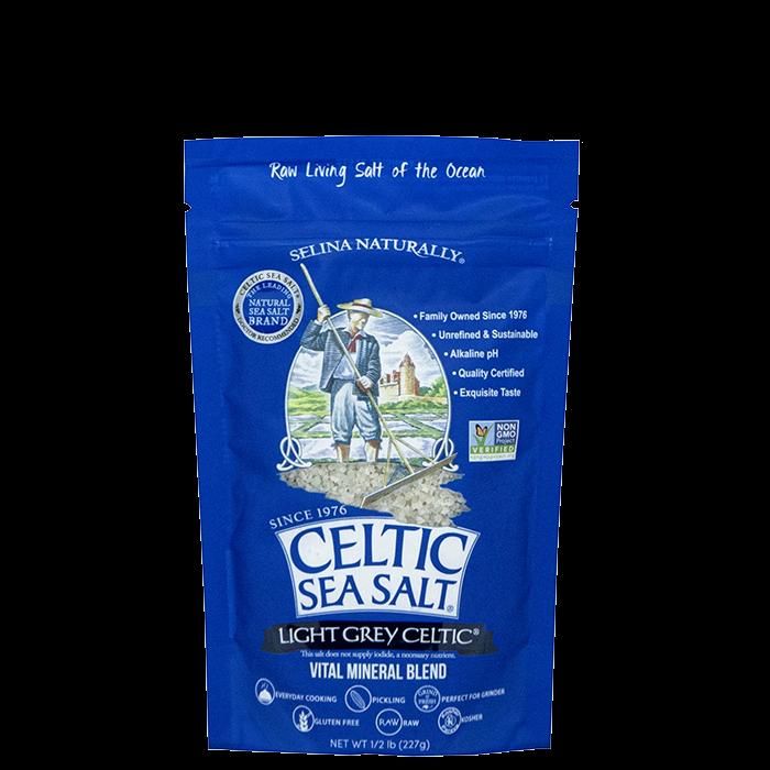 Celtic Sea Salt, Light Grey Celtic, 227 g