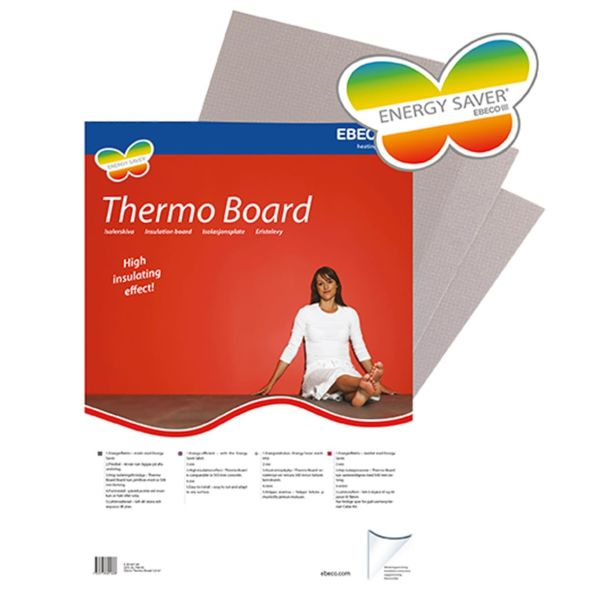 Ebeco Thermo Board Isoleringsplate 5-pakning