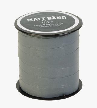 Matt lahjanauha harmaa