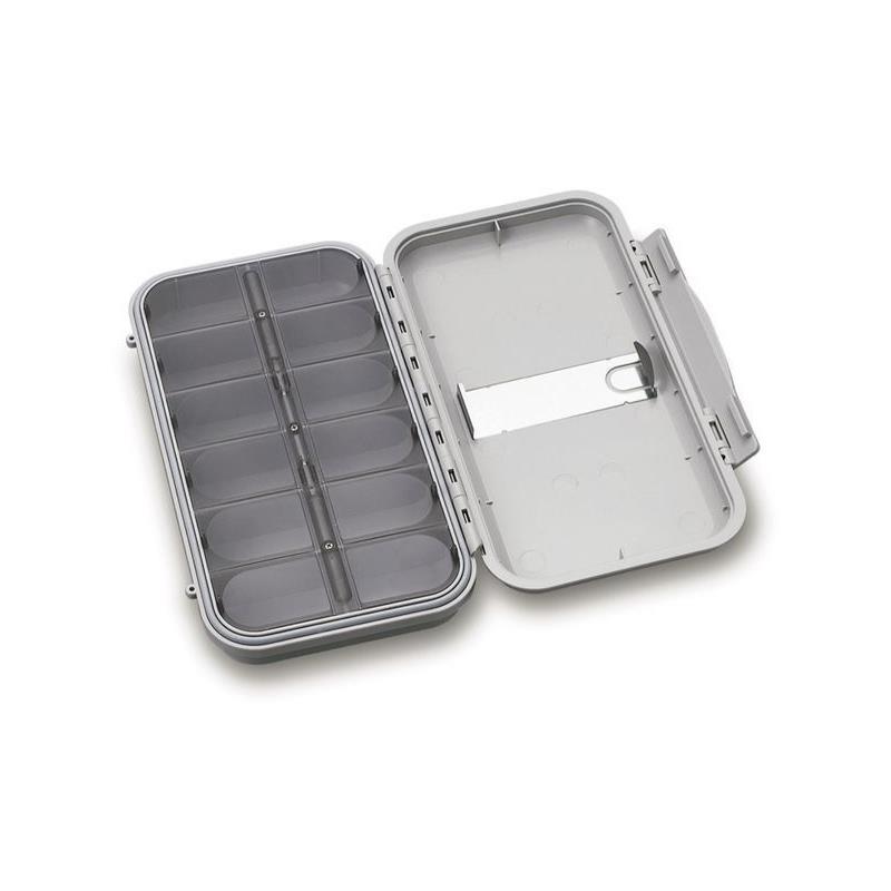 C&F Large WP Compartment Case Off White FFS-L2