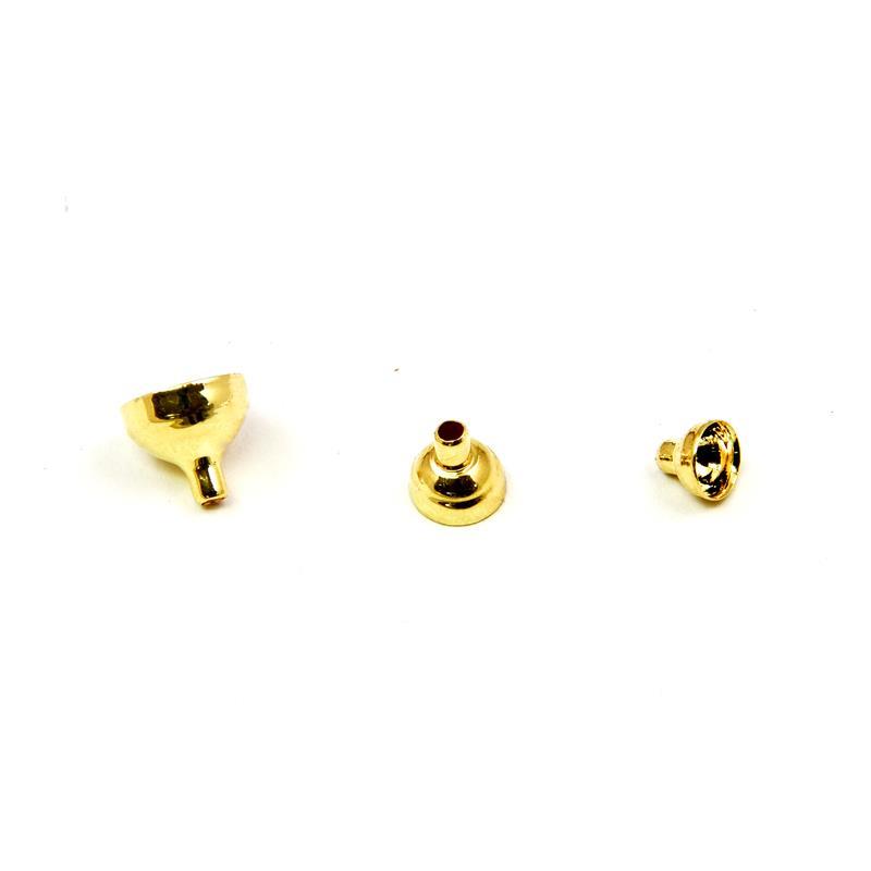 FITS Brass Turbo Tubes Gold L Frödin Flies