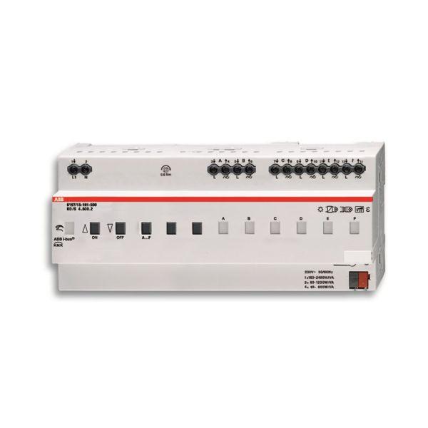 ABB 6197-0-0039 Valonsäädin 1–6 kanavaa KNX Suurin kytkentäteho: 600 W