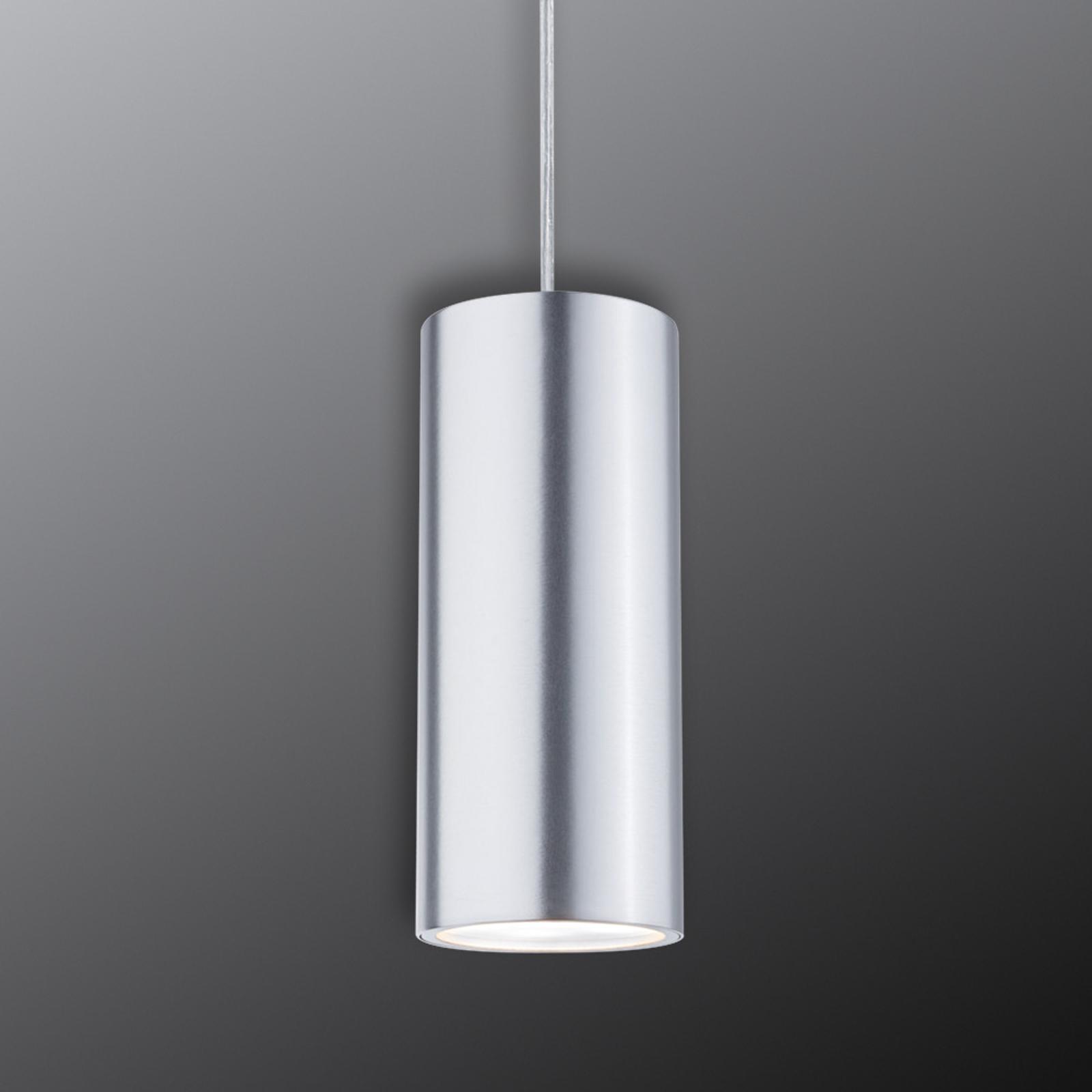 Paulmann URail Barrel -LED-riippuvalo, mattakromi