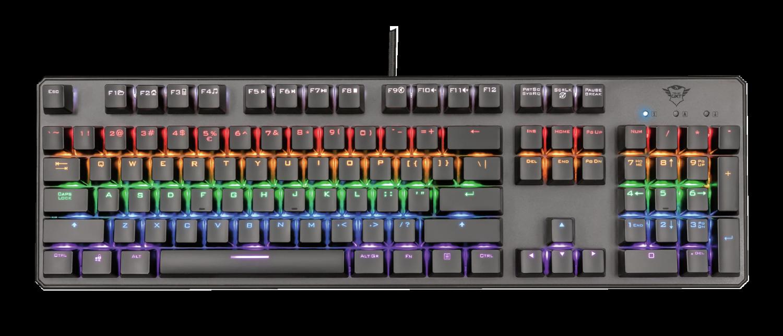 Trust GXT 865 Asta Mechanical Keyboard