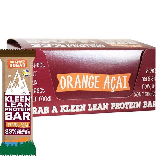 Proteinbars Orange Acai 16-pack - 68% rabatt