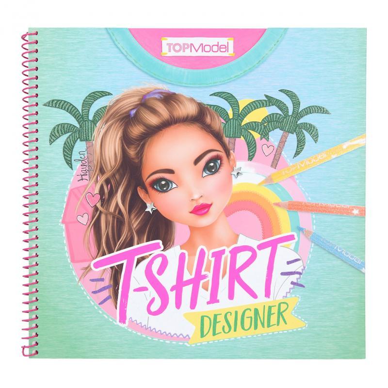 Top Model - Colouring Book - T-Shirt Designer (0411502)