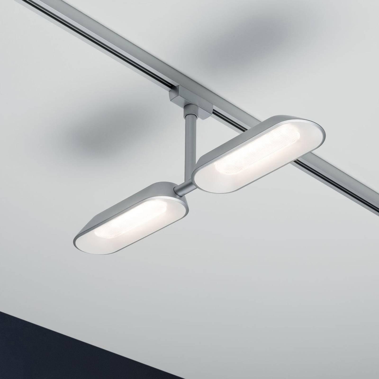 Paulmann URail LED-Spot Dipper, kaksilamppuinen