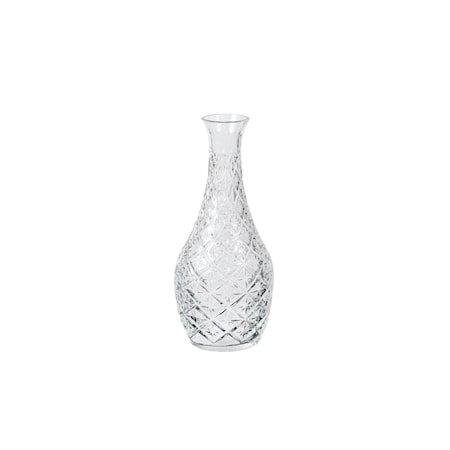 Vase Curve Klar Glass Ø 10 x H 25 cm