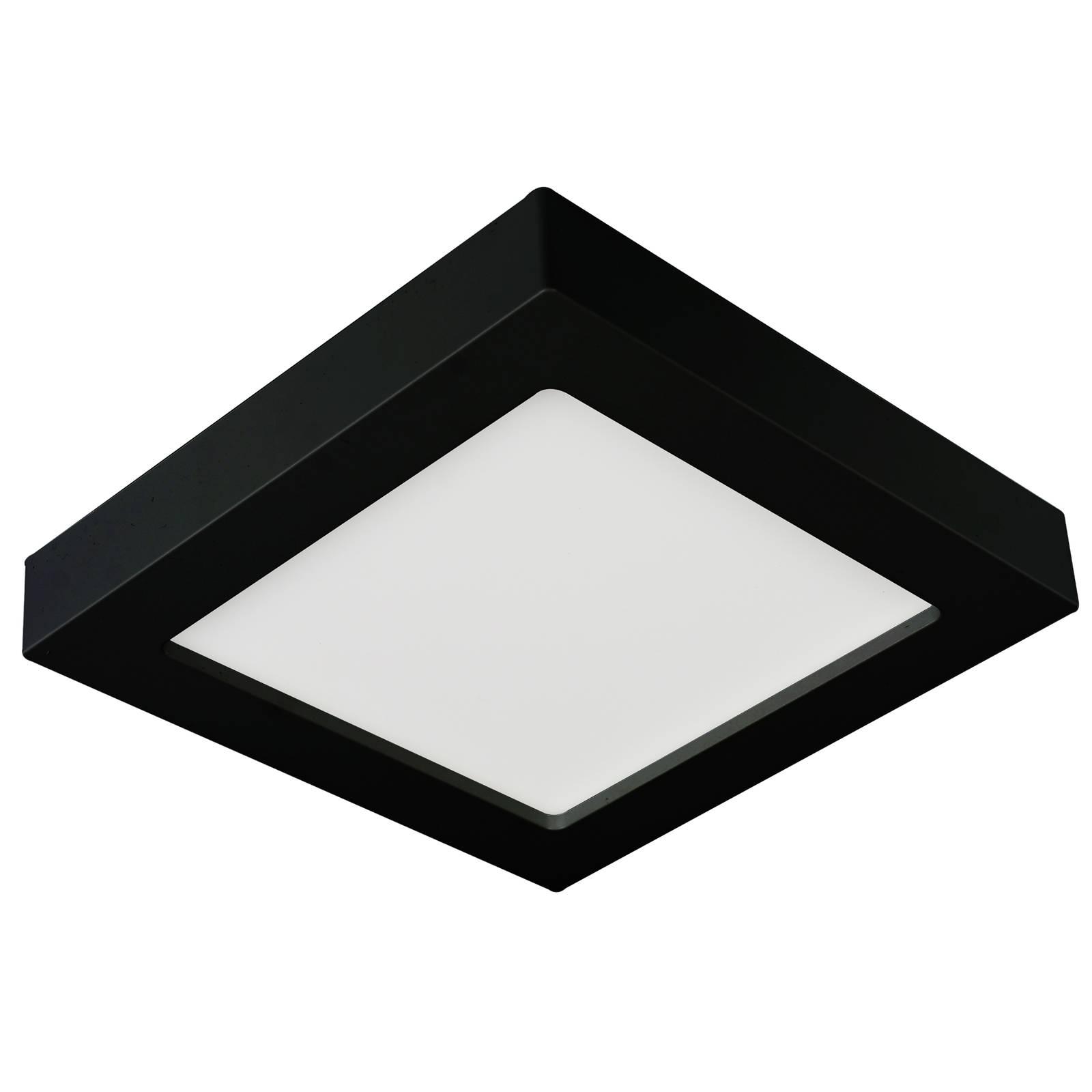 Prios Mazin -LED-kattovalaisin, IP44, CCT, 24 W