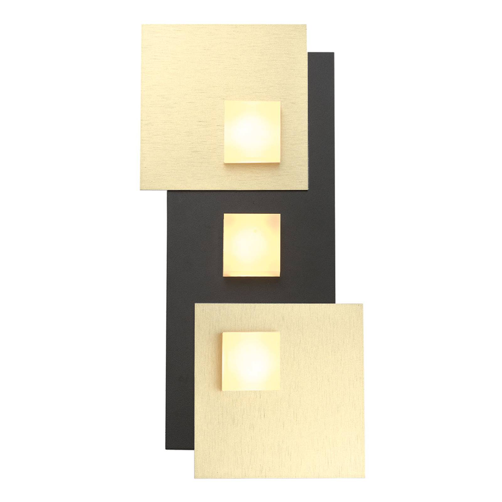 Bopp Pixel 3.0 LED-kattovalaisin, 2-lamp., musta