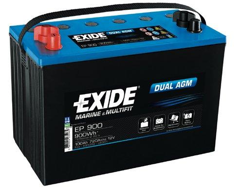 Batteri Dual AGM 100Ah