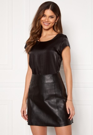 ONLY Vic SS Shimmer Top Black 36