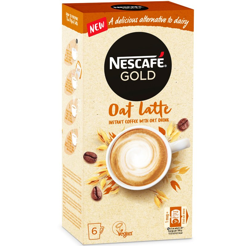 Snabbkaffe Gold Oat Latte - 26% rabatt