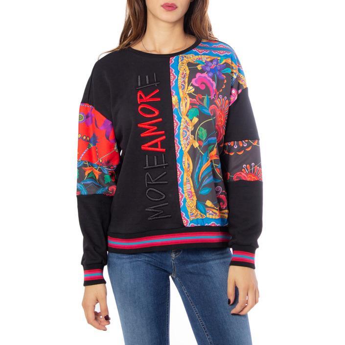 Desigual Women's Sweatshirt Black 185025 - black L