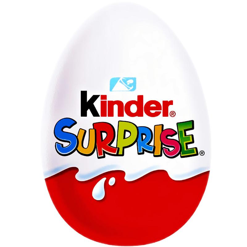 Kinderägg Surprise - 16% rabatt