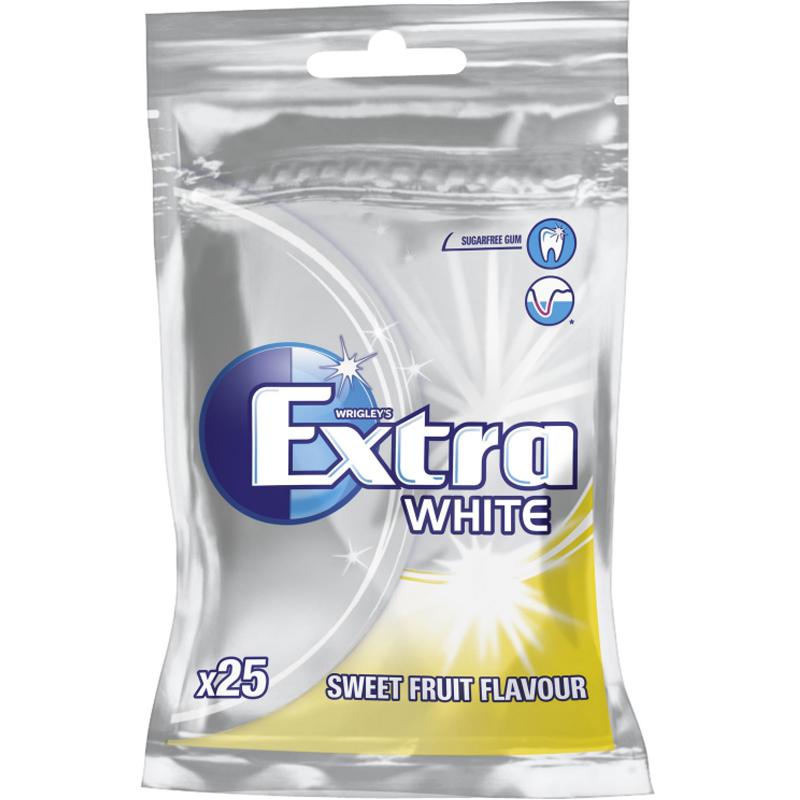 Tuggummin White Fruit - 48% rabatt