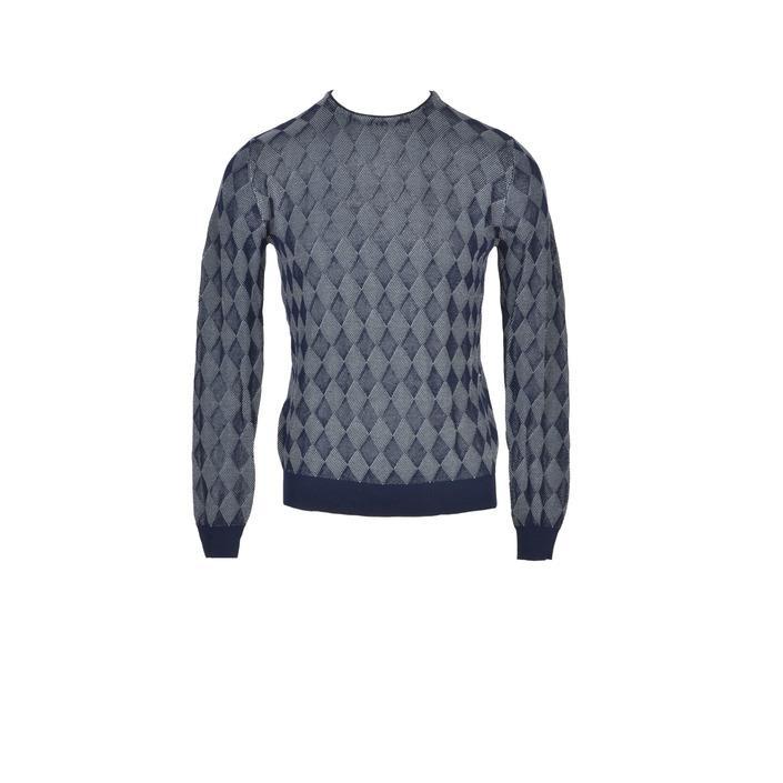 Ballantyne - Ballantyne Men Knitwear - blue 56
