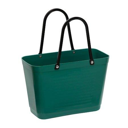 Veske Liten Green Plastic Mørkegrønn