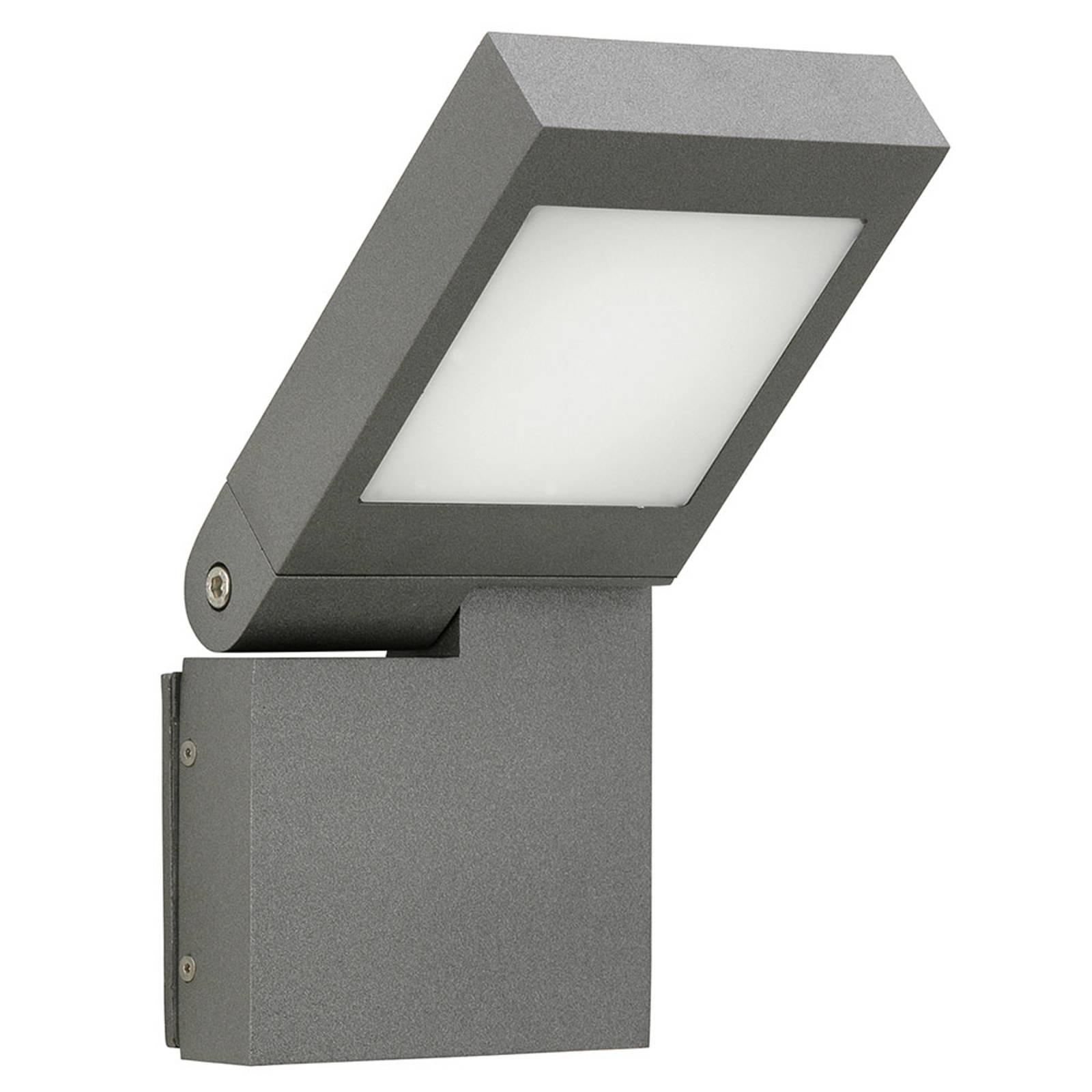 LED-seinävalaisin 0111, kääntyvä pää, antrasiitti