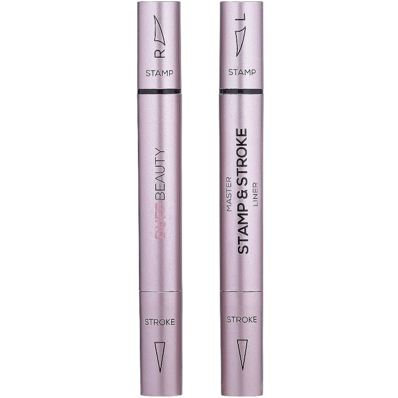 DUFFLashes - Master Stamp and Stroke Eyeliner Extreme Black - Grand 12 mm