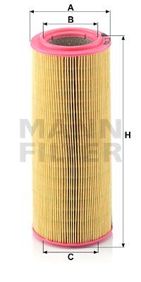 Ilmansuodatin MANN-FILTER C 12 104