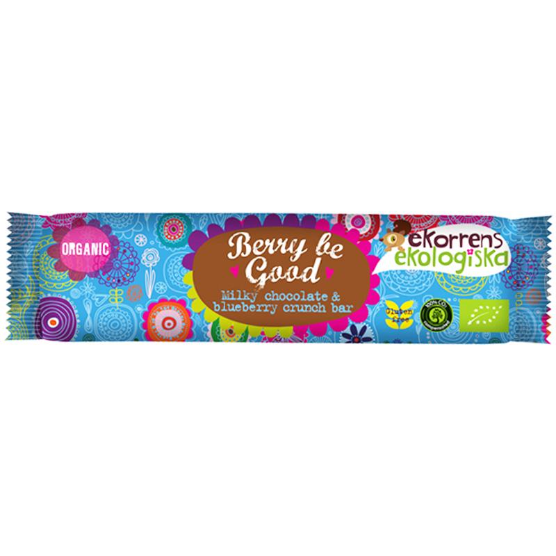"Eko Chokladbar ""Milky Chocolate & Blueberry"" 35g - 42% rabatt"