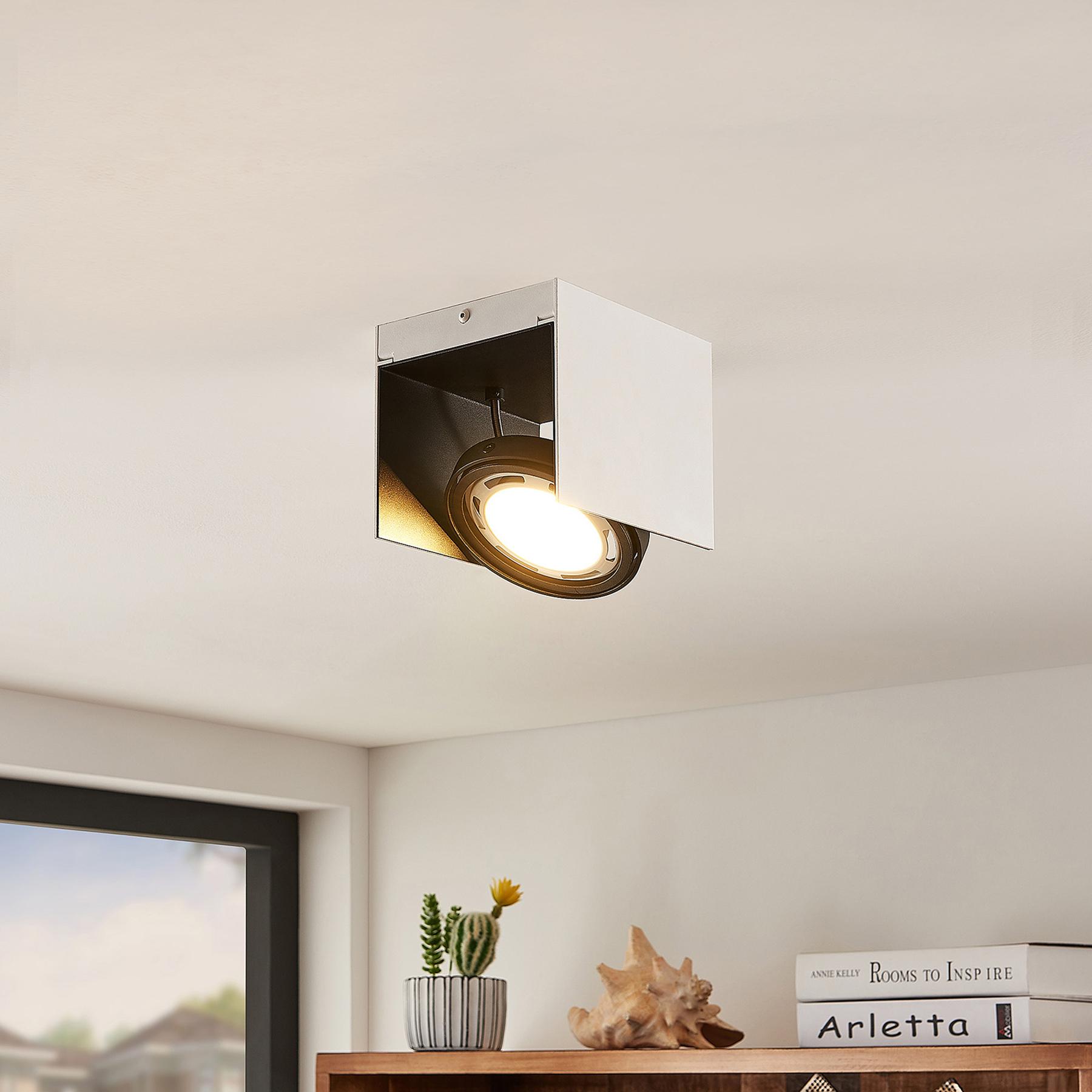 Arcchio Ocula -LED-kattokohdevalo GU10, 1-lamp.