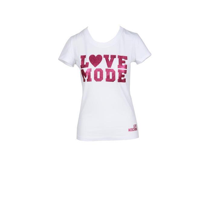Love Moschino Women's T-Shirt White 178018 - white 44