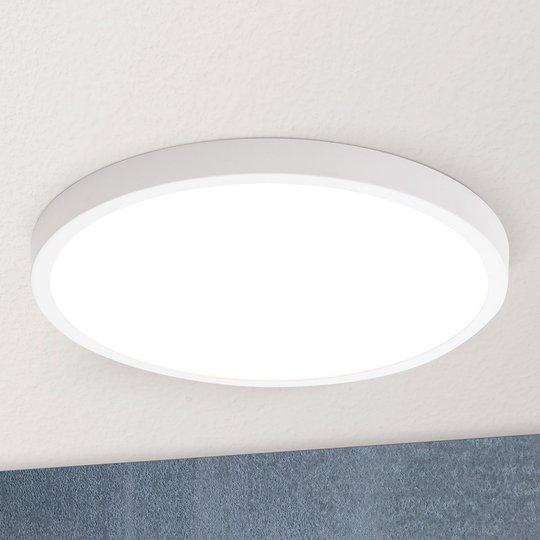 LED-kattovalaisin Vika, pyöreä, valkoinen, Ø 30cm