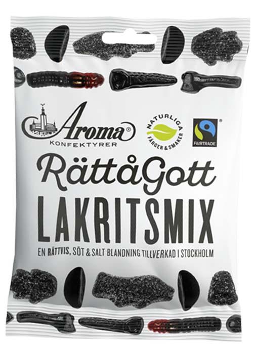 Rättågott Lakritsmix - 140g